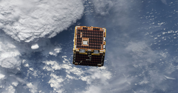 Small satellite demonstrates possible solution for